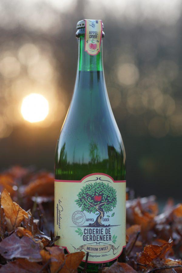 Cider Medium sweet de Gerdeneer
